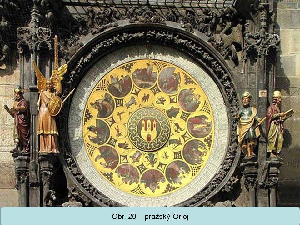 Střední škola Oselce Obr. 20 – pražský Orloj