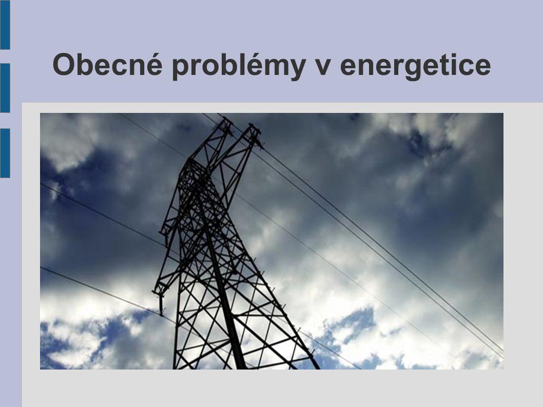 Obecné problémy v energetice