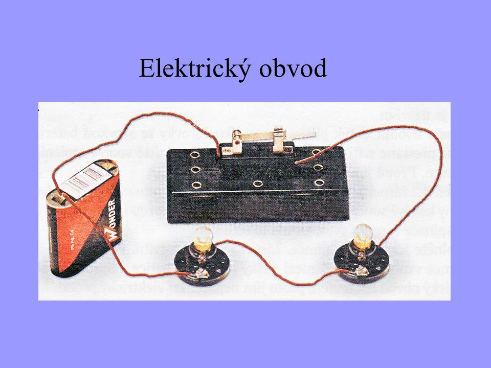 Z čeho se skládá jednoduchý elektrický obvod.