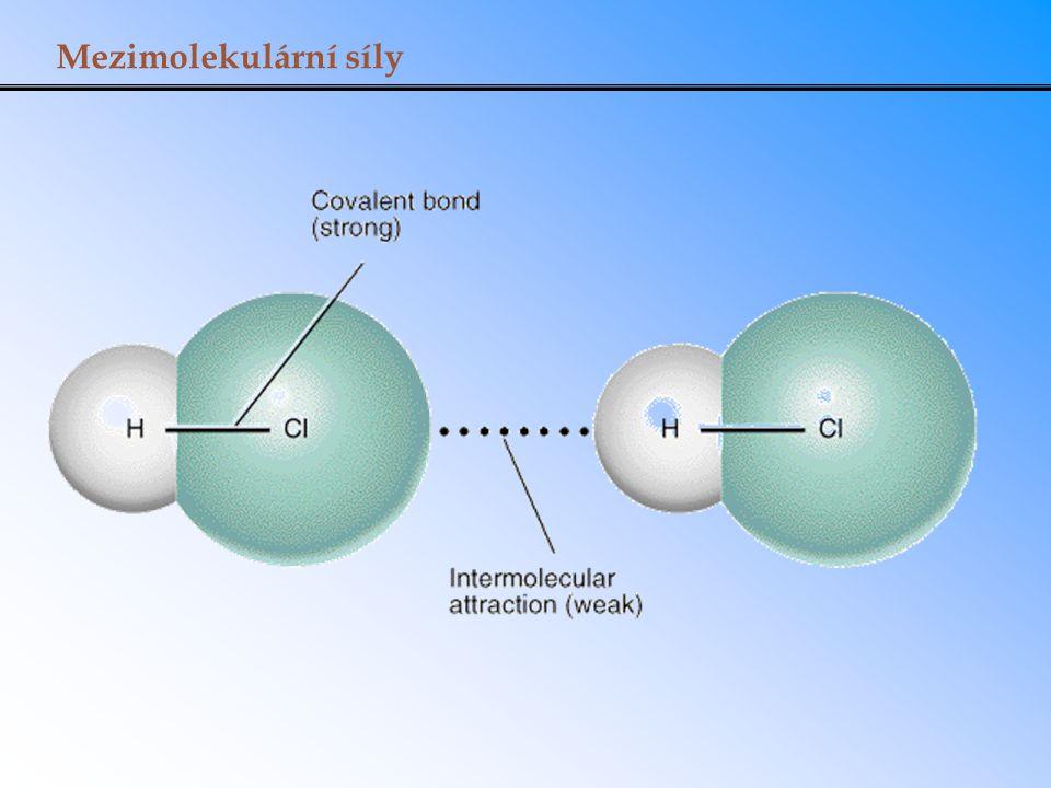 Vlastnosti kapalin: povrchové napětí Povrchová energie je energie potřebná ke zvětšení povrchu kapaliny o jednotkovou plochu.