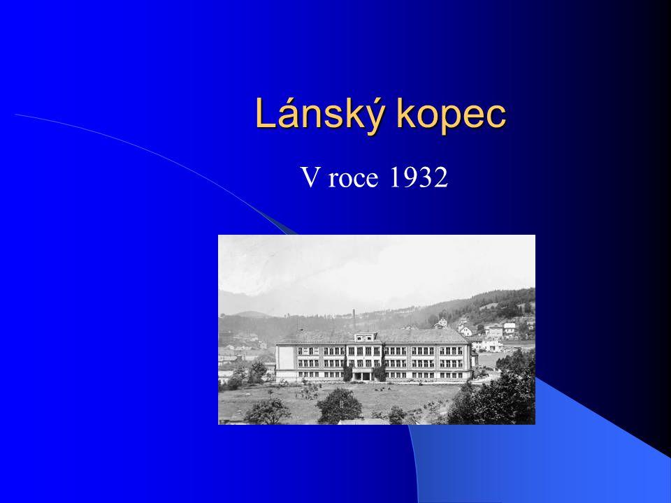 Lánský kopec V roce 1929