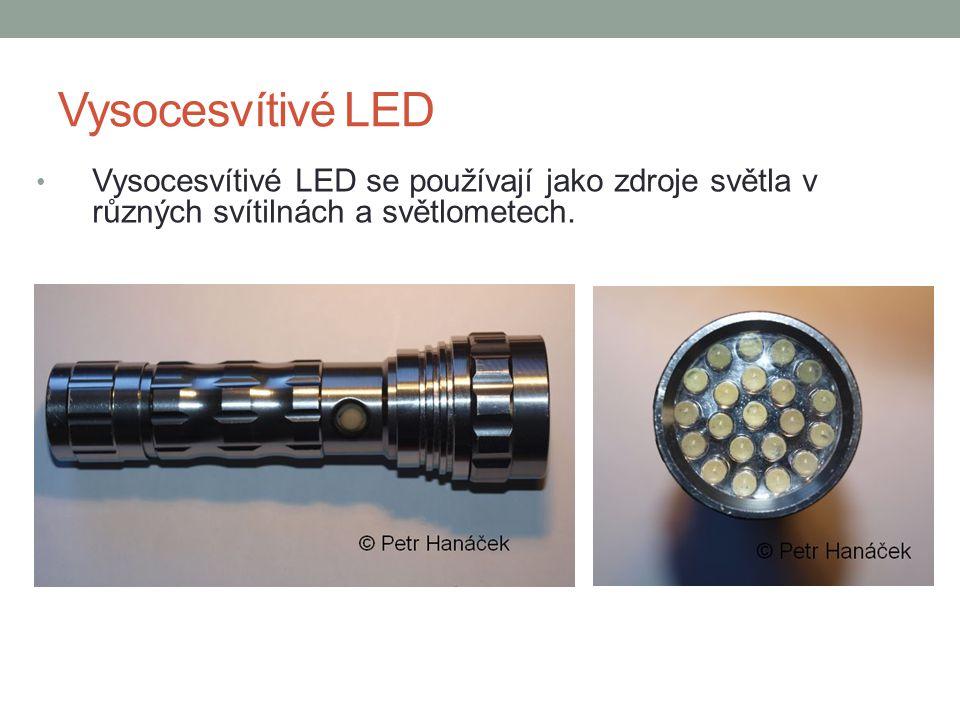 Další využití LED Diody se využívají v moderních velkoplošných barevných obrazovkách.