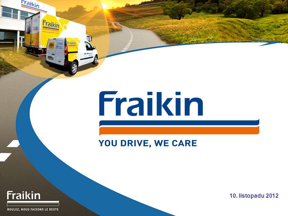 12 Služby společnosti Fraikin Asistenční služba Fraikin 24/24-7/7 800 606 046 Oprava - V noci nebo o víkendu, naše centrální asistenční služba je kdykoliv k dispozici.