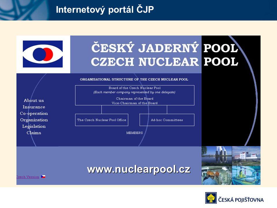 Internetový portál ČJPwww.nuclearpool.cz