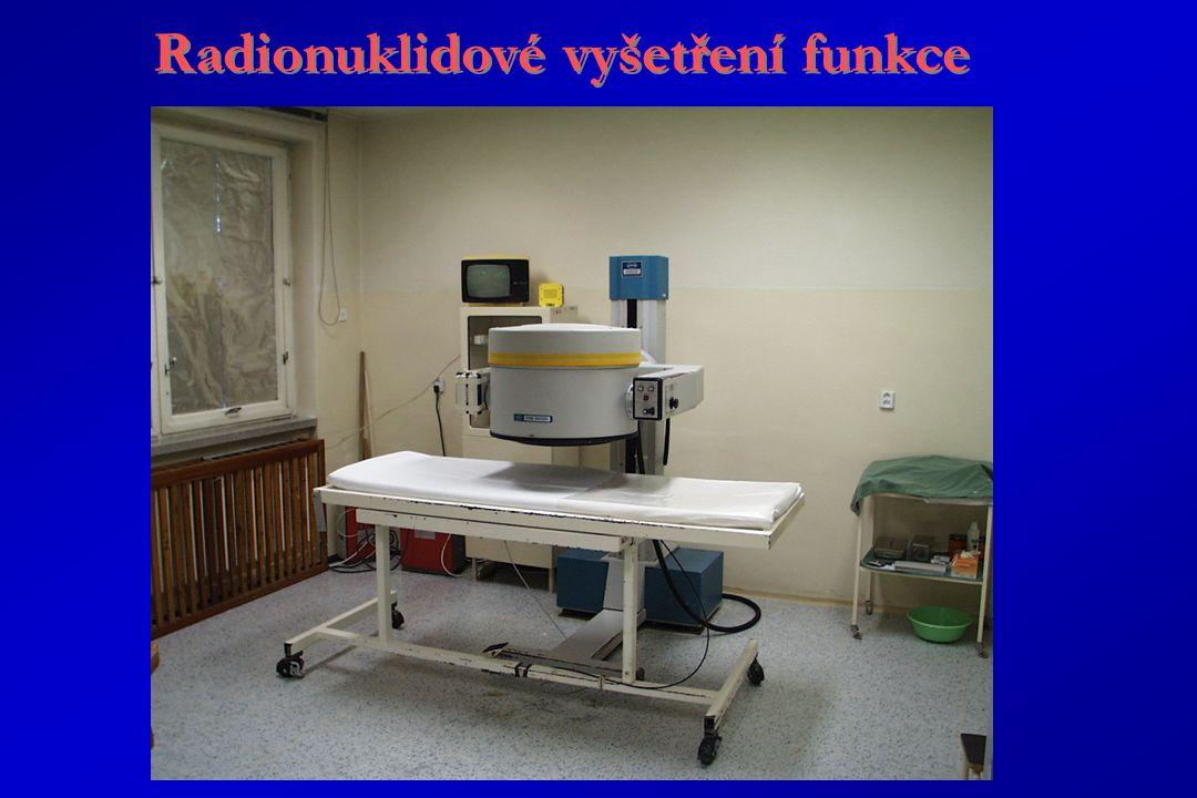 Radionuklidové vyšetření funkce