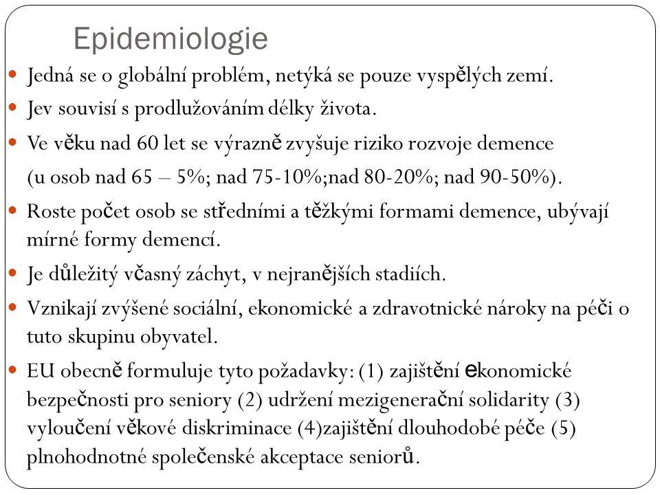 Epidemiologie Jedná se o globální problém, netýká se pouze vysp ě lých zemí.