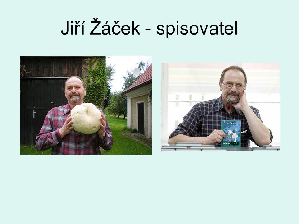 Jiří Žáček - spisovatel