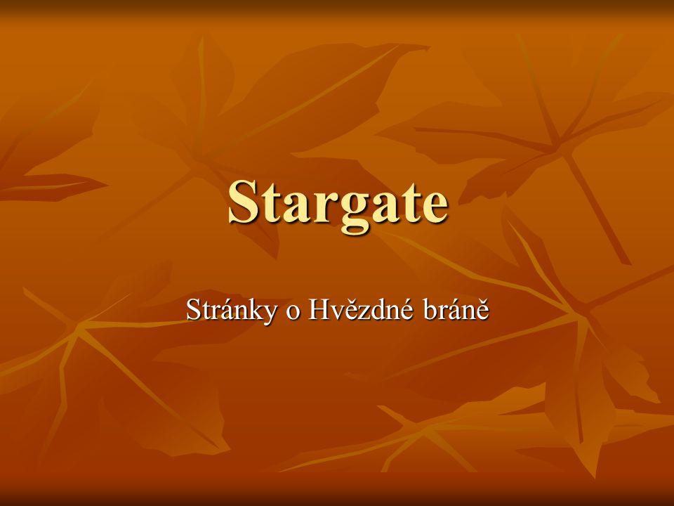 Stargate Stránky o Hvězdné bráně
