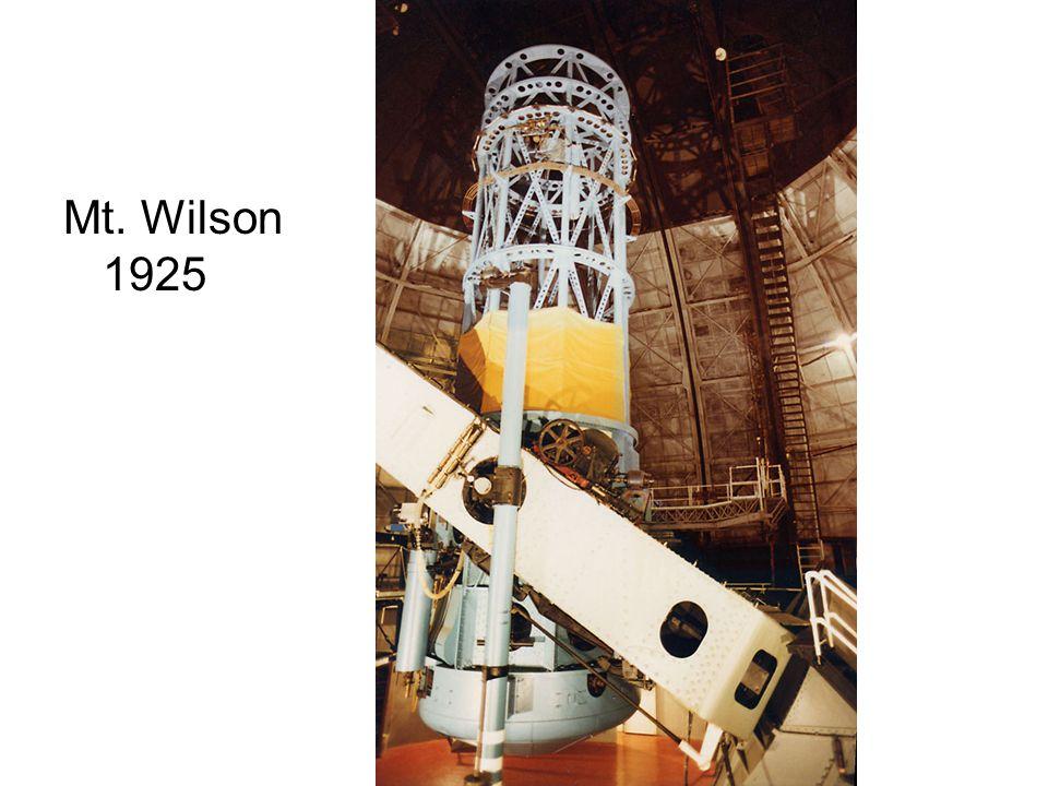 Mt. Wilson 1925