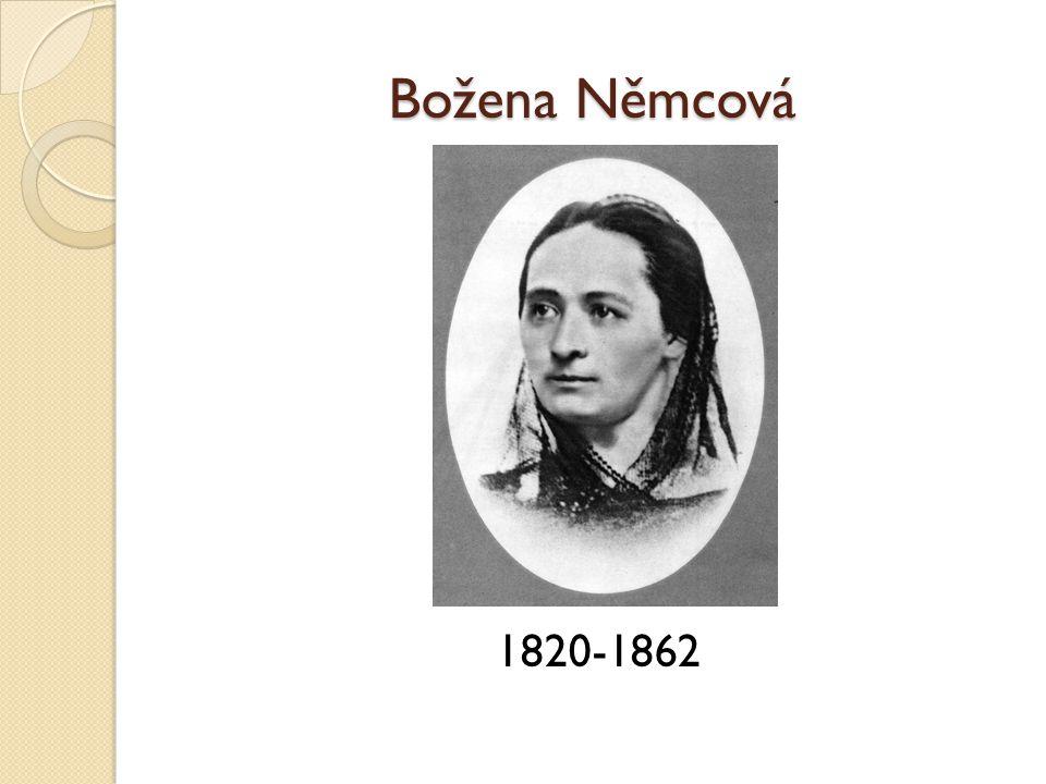 Božena Němcová 1820-1862