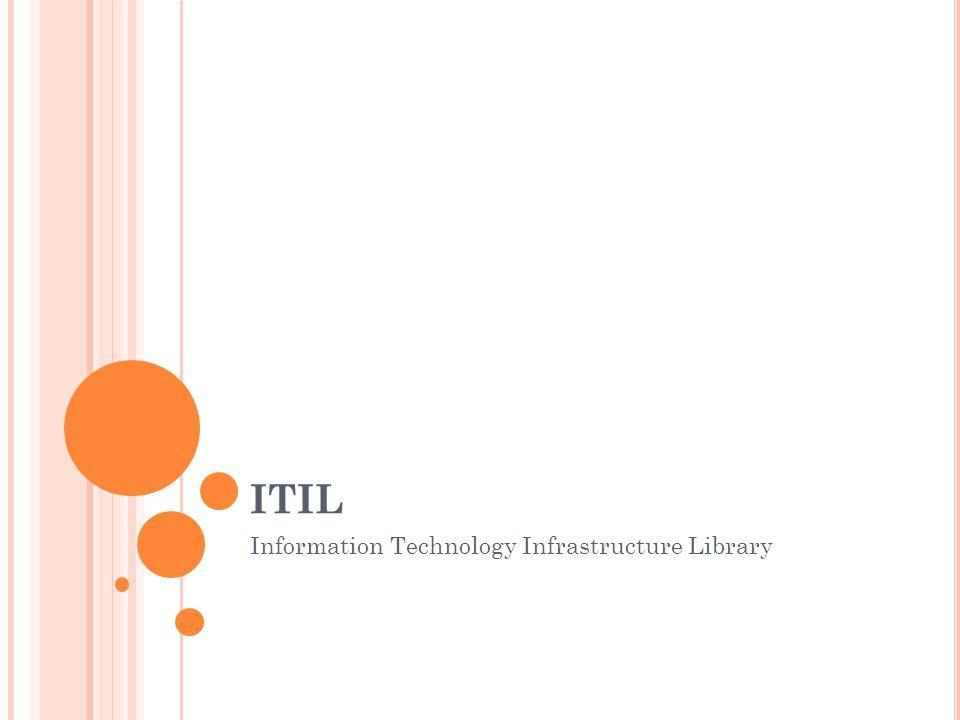 C O JE TO ITIL.