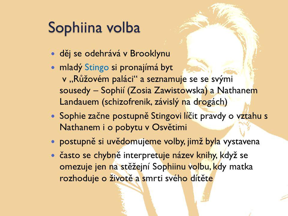 Sophiina volba Naleznete v příběhu autobiografické rysy.