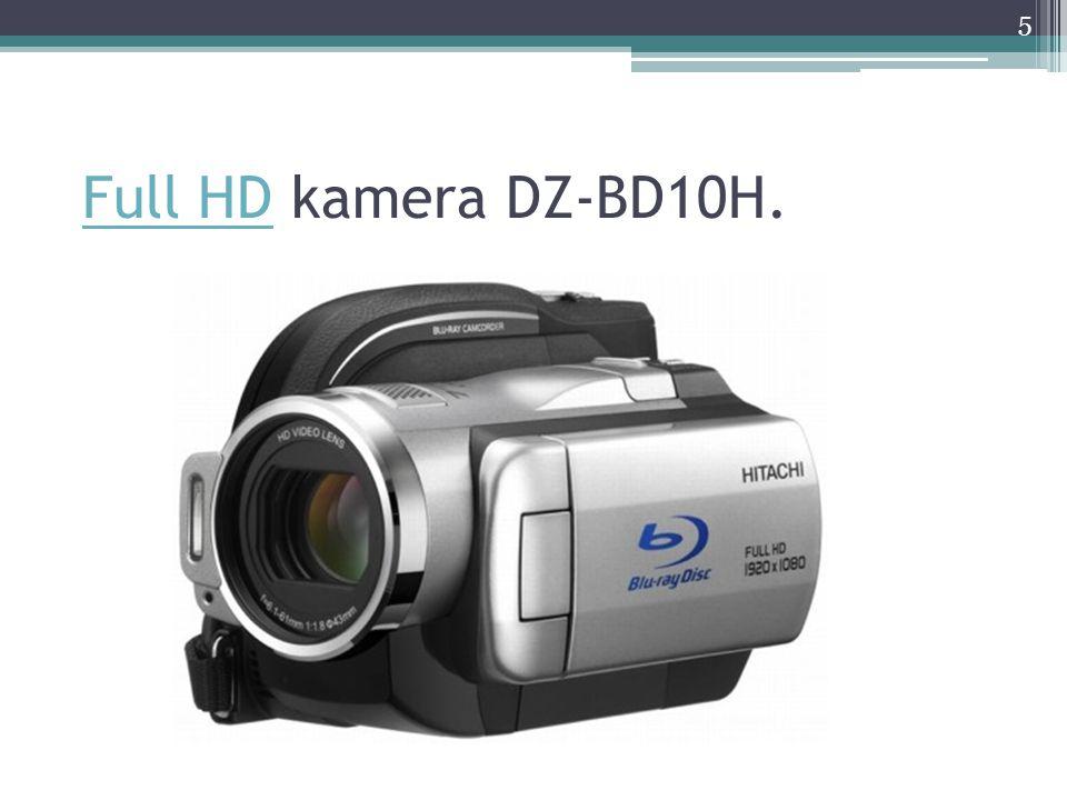 Držení kamery Používat stativ nebo držet kameru v ruce.
