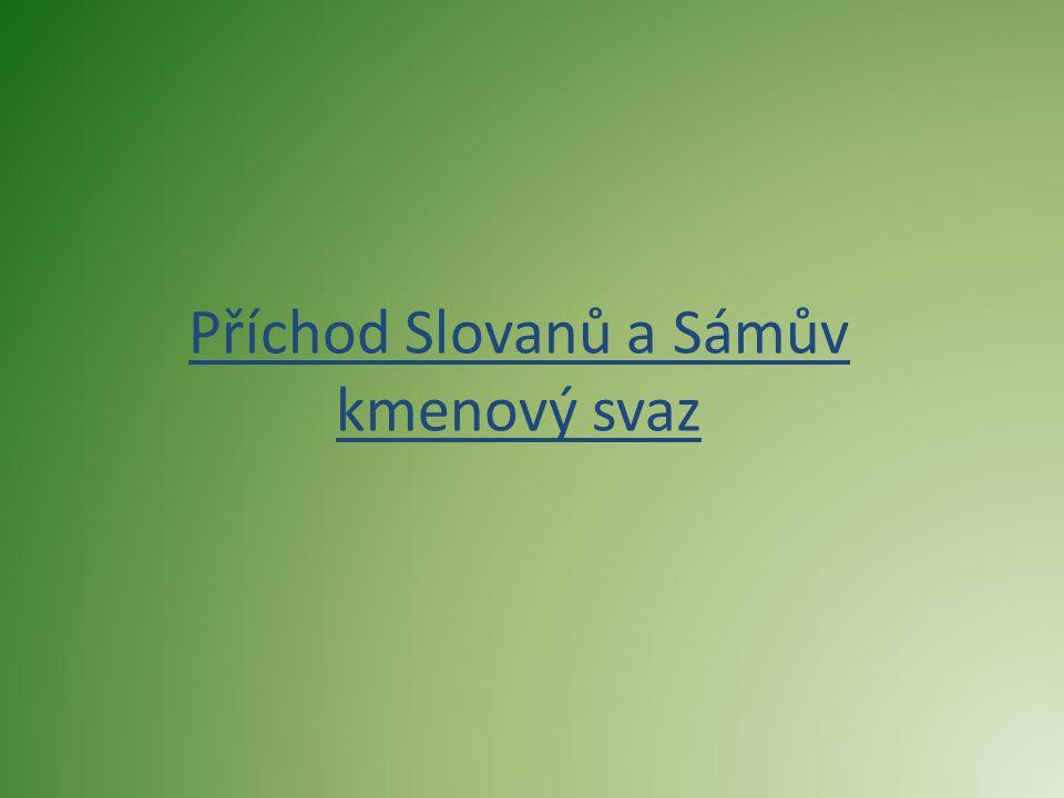 Původní území slovanských kmenů  Odhadovaná pravlast Slovanů se nacházela někde v širším pásu úrodných nížin mezi středním Dněprem, Pripjatí, horním Dněstrem, Vislou a Odrou.