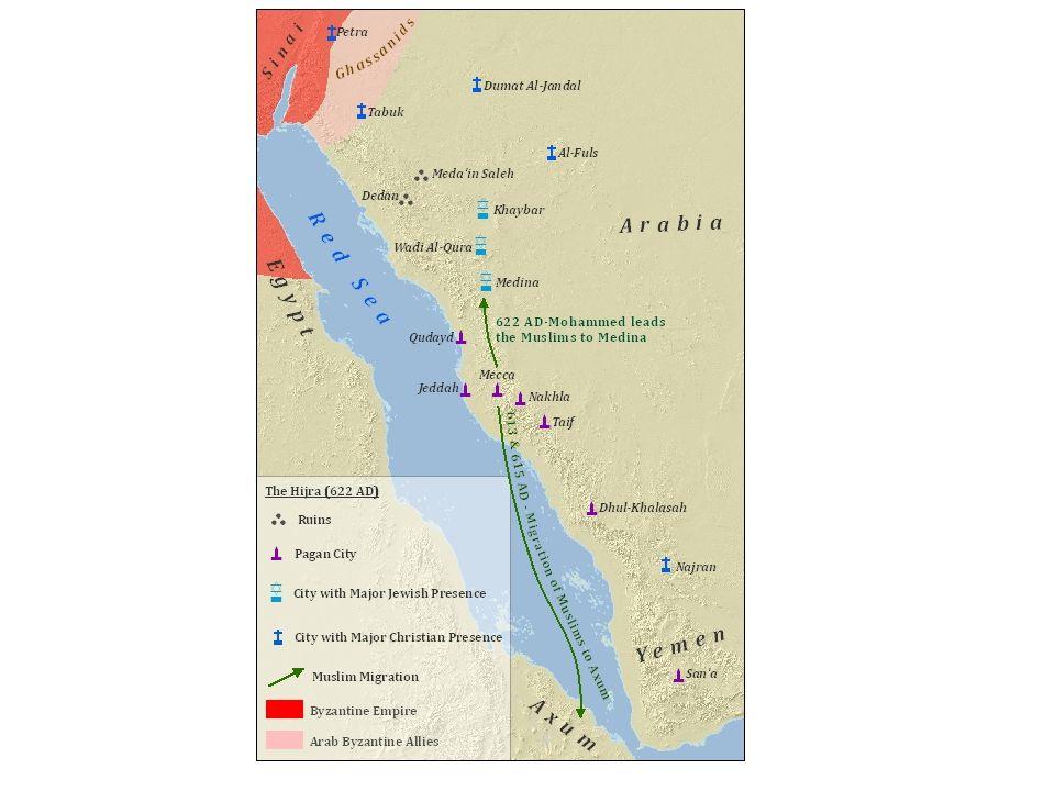 Arabská říše Vrchol: 8./ 9.století Chalífa Hárún ar- Rašíd (Pohádky tisíce a jedné noci) Hl.