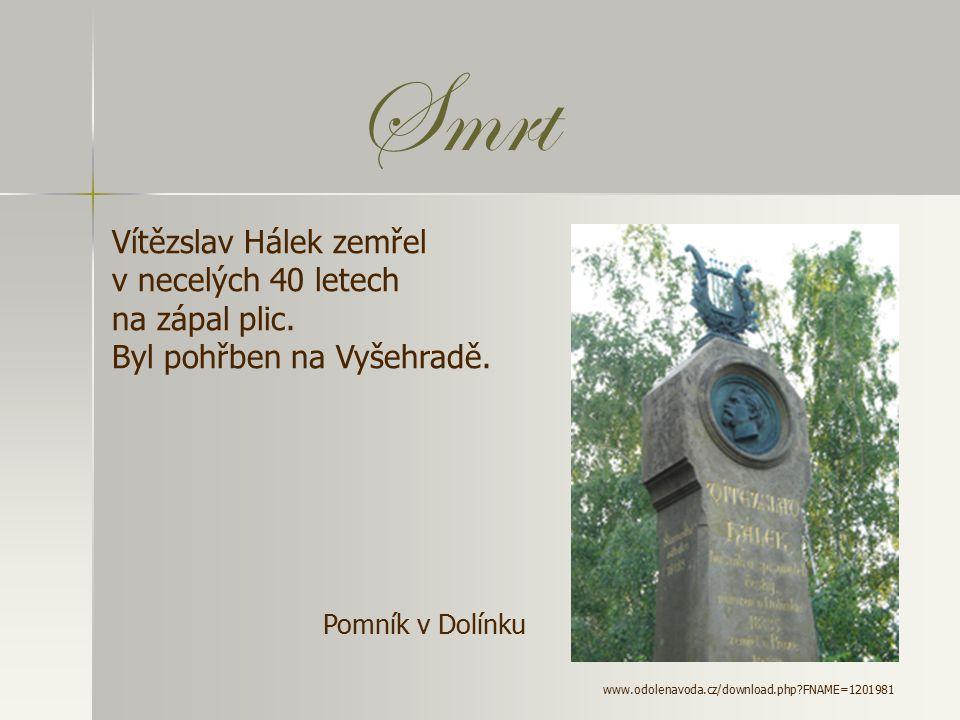 Ž ivotní osudy - narodil se 5. dubna 1835 v Dolínku na Mělnicku - odmítl přání rodičů stát se knězem => - studoval akademické gymnázium, pak filozofii