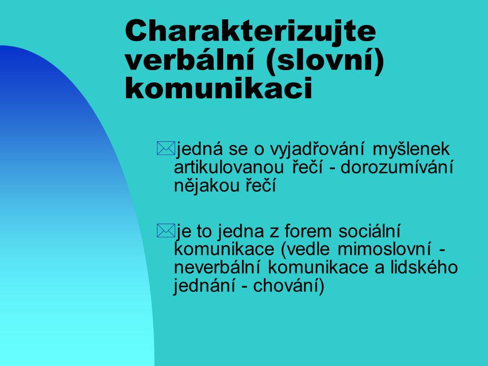 Komunikace - co vše o tomto pojmu víte z hlediska manažera *komunikační řetězec: - idea - zakódování - vyslání - komunikační kanál (hrozba komunikační