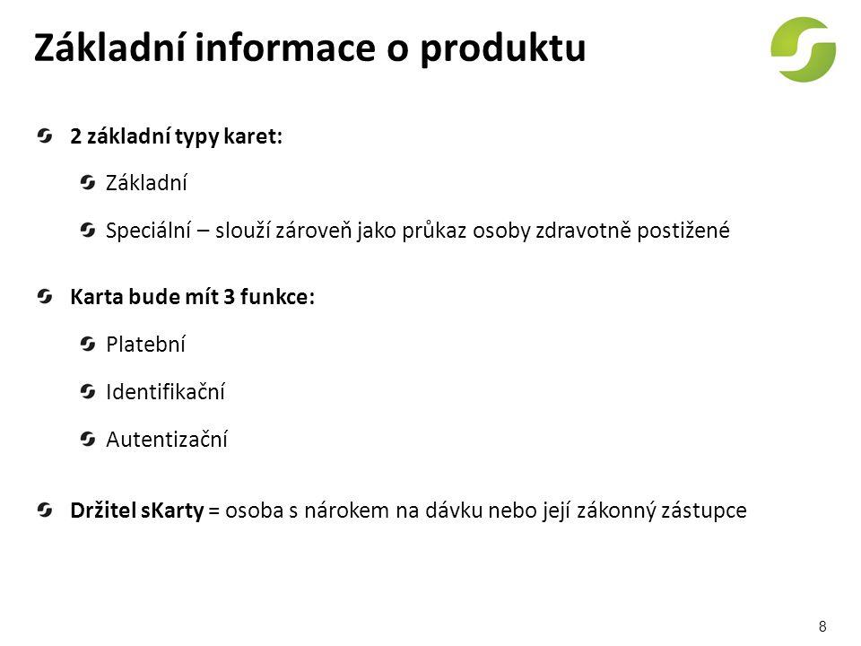 19 Webové stránky www.skontakt.cz Informační část Transakční část Obecné informace o sKartě, dávkách Návody Otázky a odpovědi Kontakty Vstup na účet k sKartě od 1.5.od 29.6.