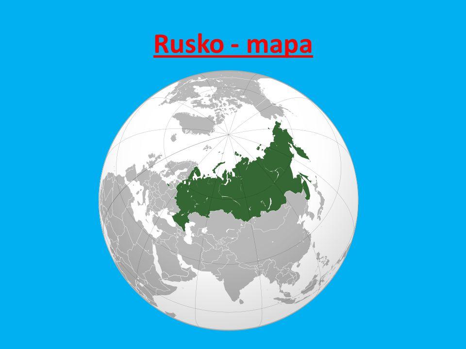 Rusko - mapa