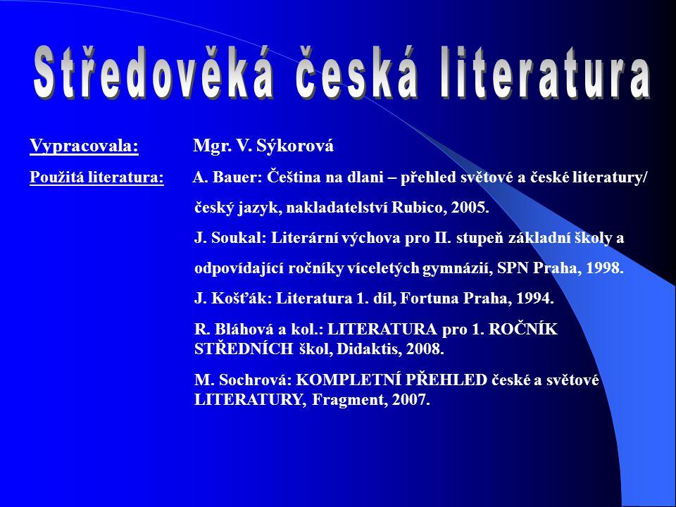 Drama Mastičkář Vznik: 40.léta 14.