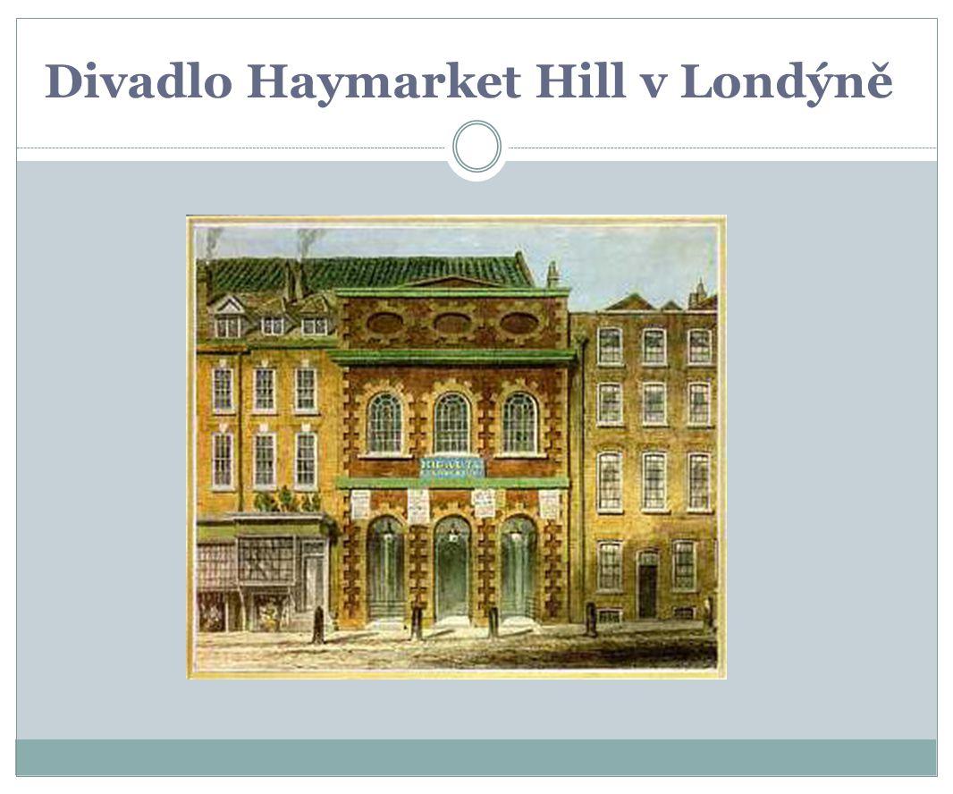 Divadlo Haymarket Hill v Londýně