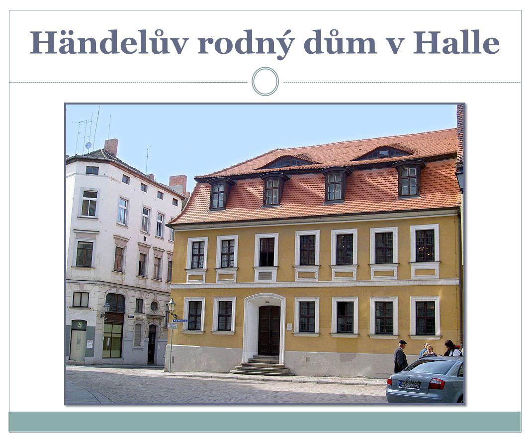 Händelův rodný dům v Halle