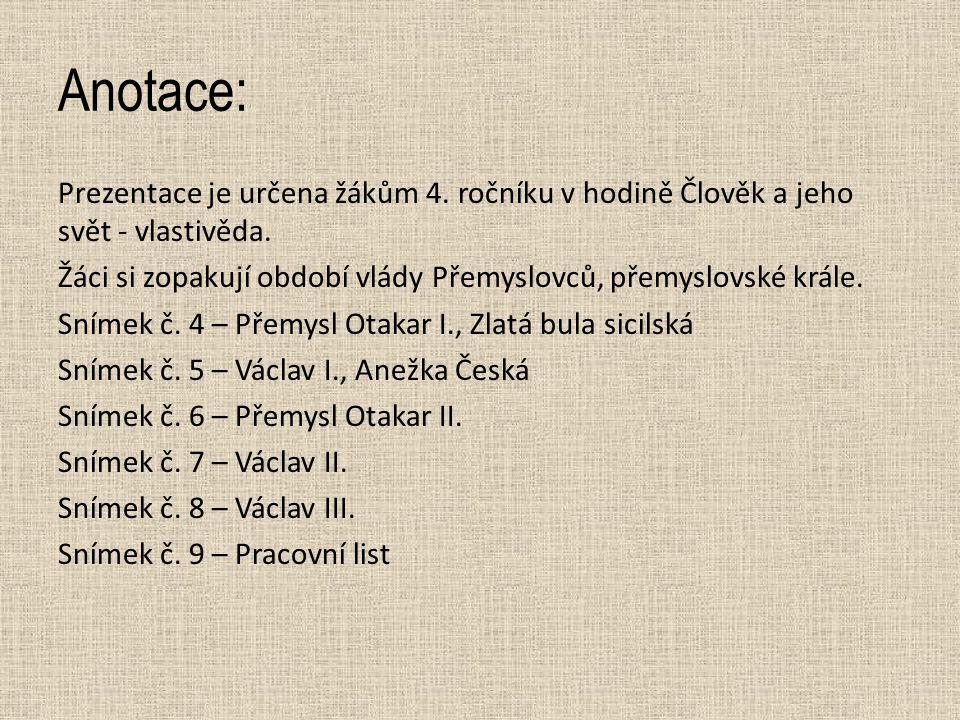 ROZVOJ ČESKÉHO STÁTU VE 13.STOLETÍ  13.
