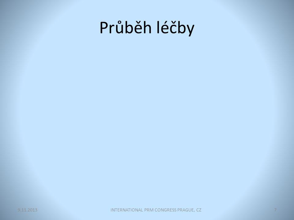 Průběh léčby INTERNATIONAL PRM CONGRESS PRAGUE, CZ79.11.2013