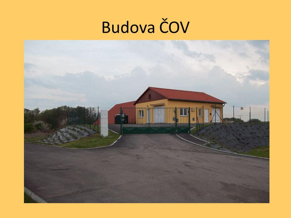 Budova ČOV