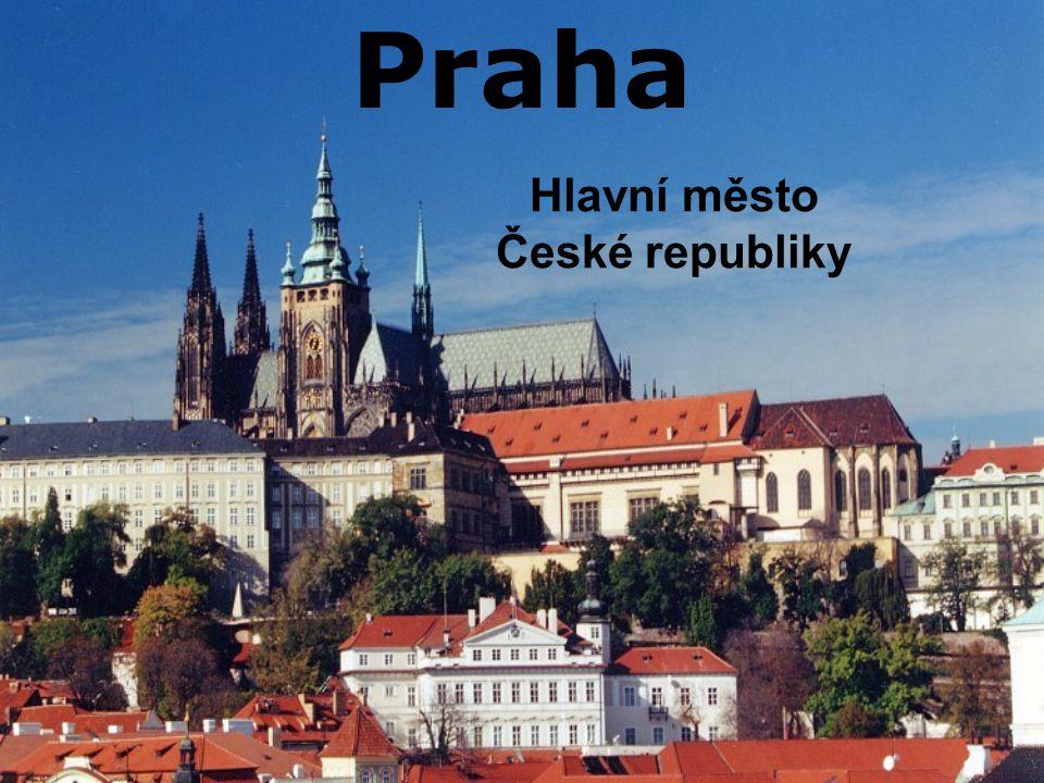 Základní informace: Rozloha: 496km² Počet obyvatel: 1 188 126 Na řece Vltavě 10 městských částí Nejvyšší bod vrch Teleček u Zličína (399 m.