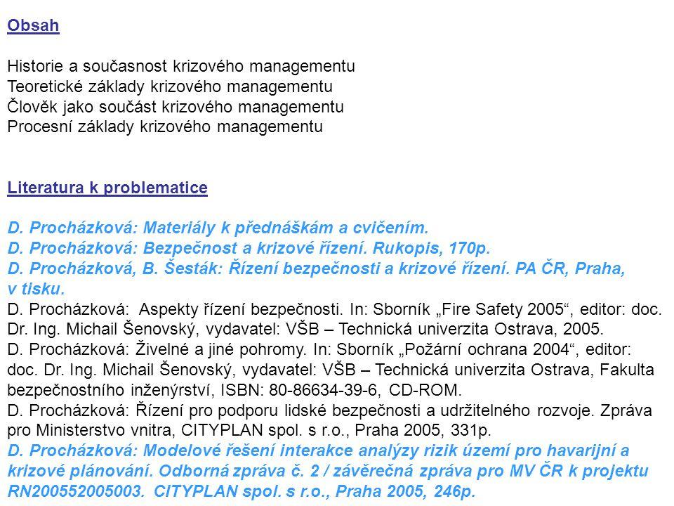 D.Procházková: Pojmy. Odborná zpráva č. 1 k projektu 28/04; smlouva, č.