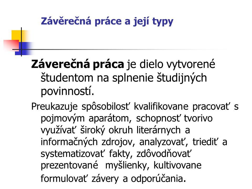 Obsah - Zoznam tabuliek a ilustrácií (napr.