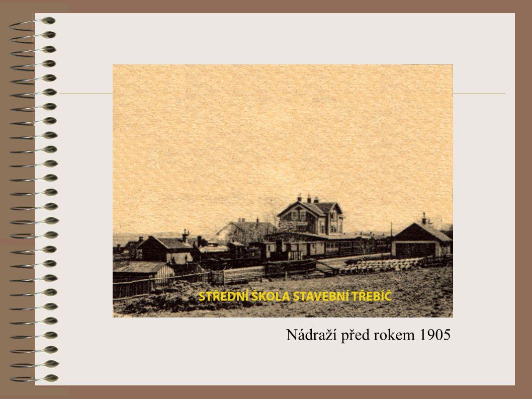 Nádraží před rokem 1905