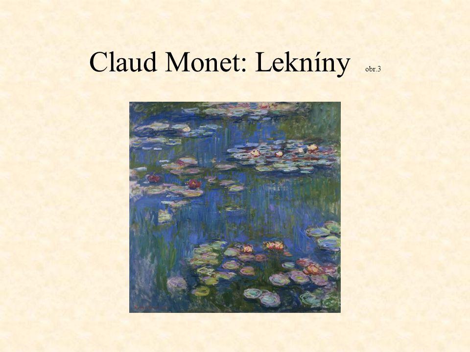 Claud Monet: Lekníny obr.3