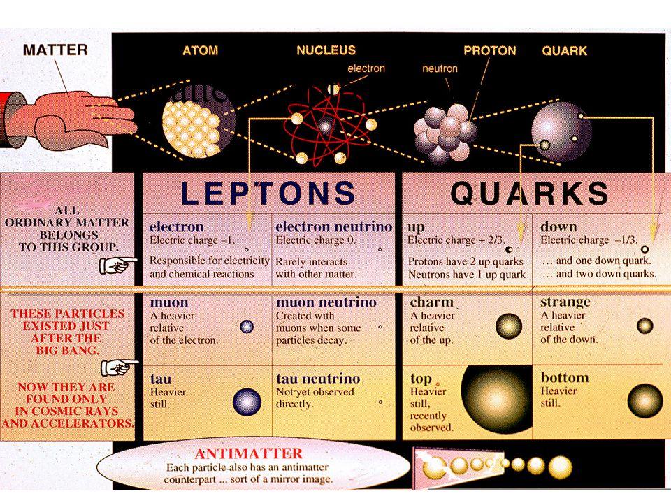 Matter, Leptons, Quarks