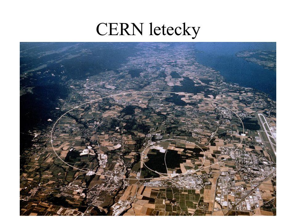 CERN letecky