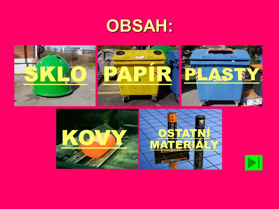 Využití recyklovaného papíru