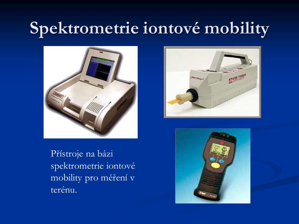 Spektrometrie iontové mobility Přístroje na bázi spektrometrie iontové mobility pro měření v terénu.