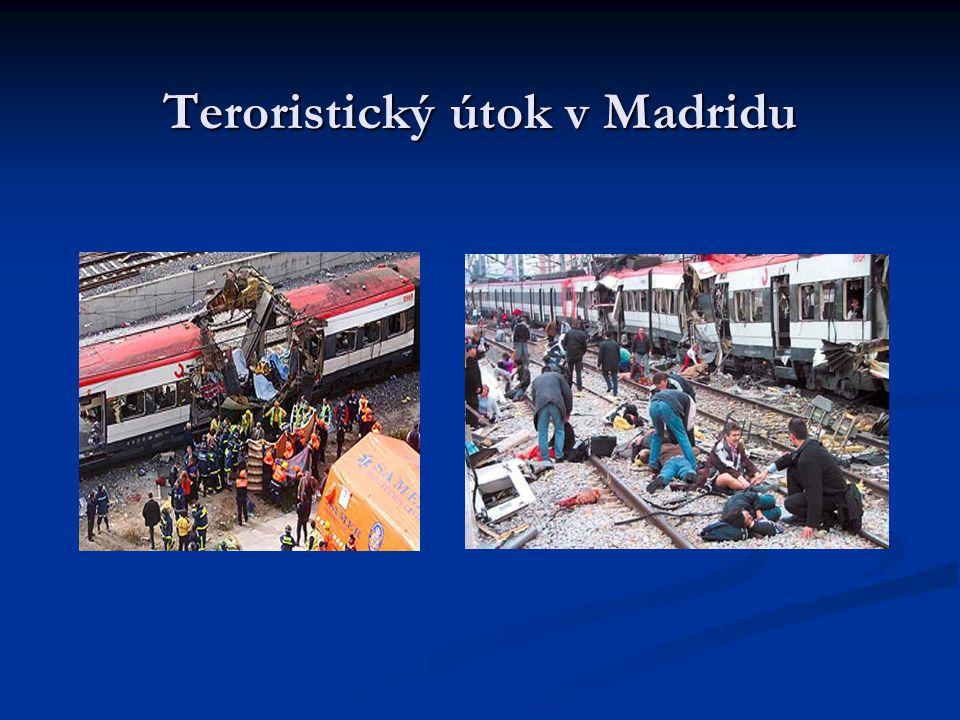 Teroristický útok v Madridu