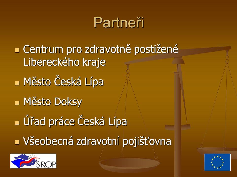 Udržitelnost Spolupráce partnerů dává institucionální předpoklad trvání projektu.