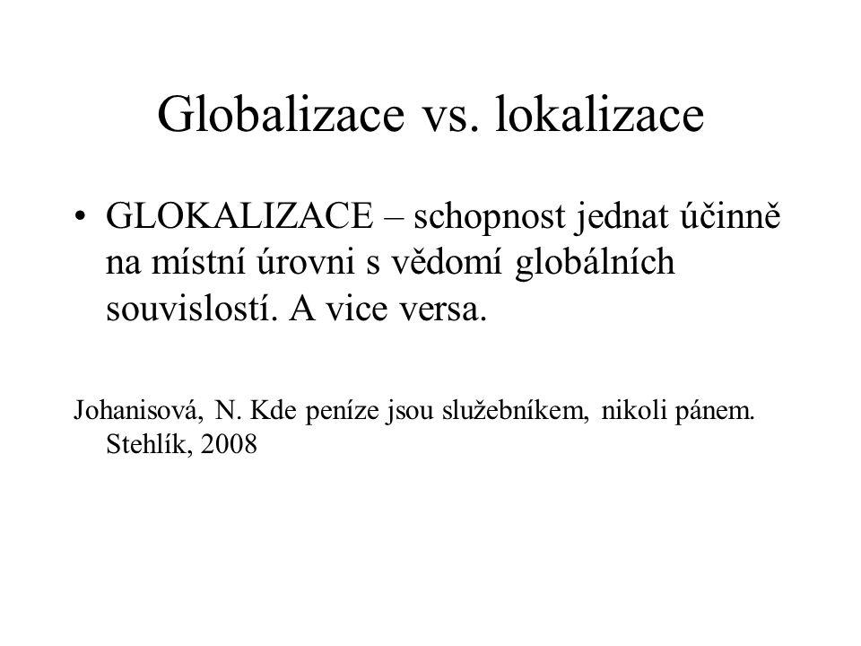 Globalizace vs.