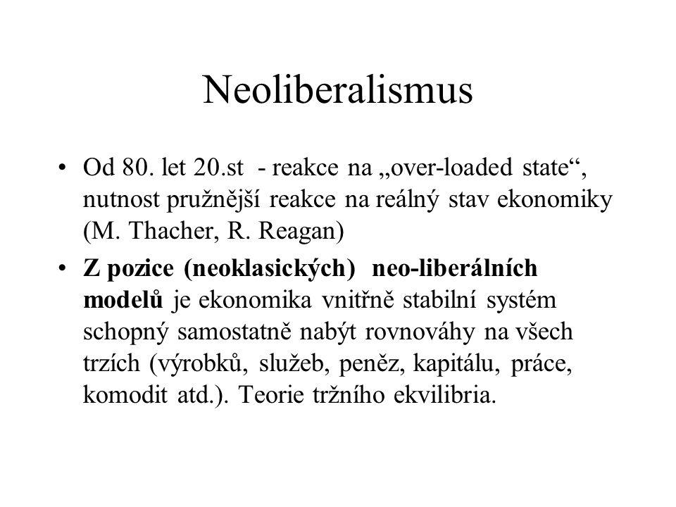 Neoliberalismus Od 80.