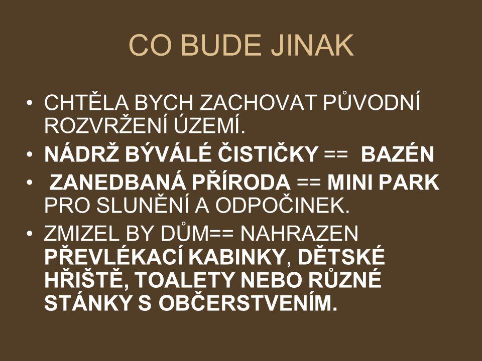 NÁDRŽ BAZÉN