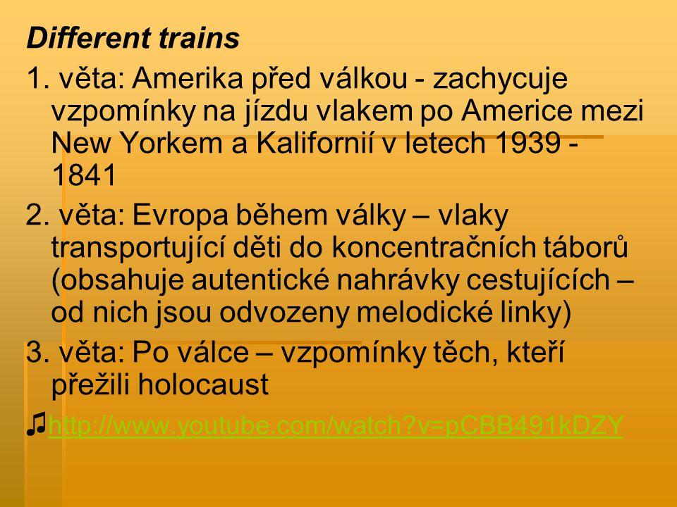 Different trains 1.