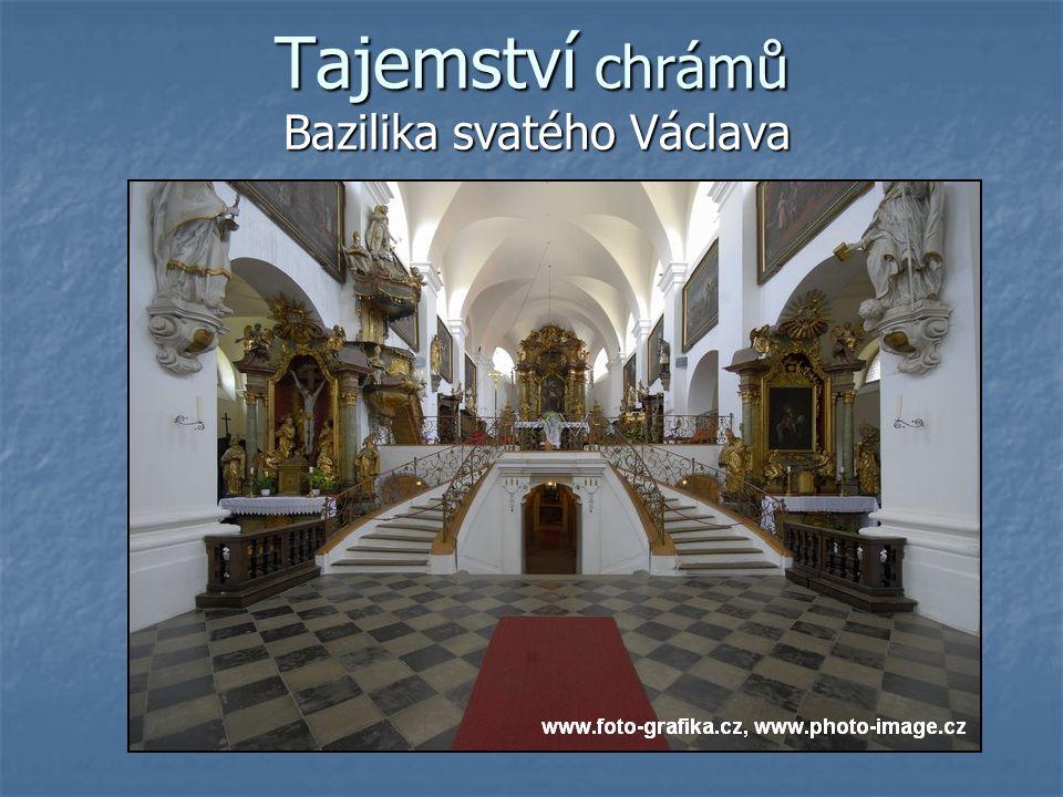 Tajemství chrámů Bazilika svatého Václava