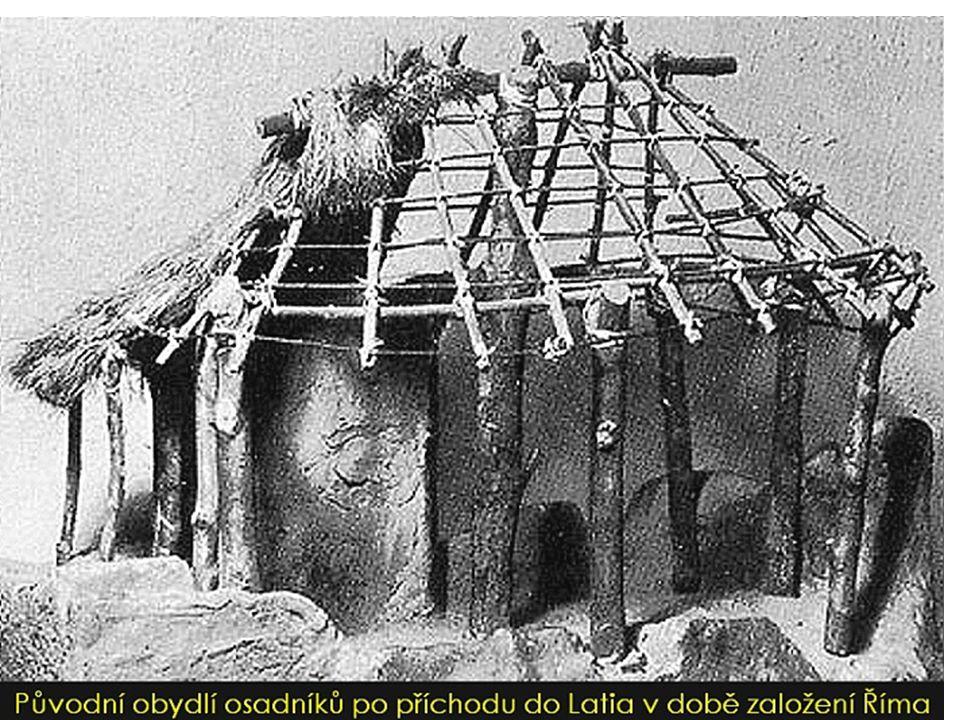 Etruskové Příchod: 8.stol. př. n. l městské státy – vrchol 500 př.