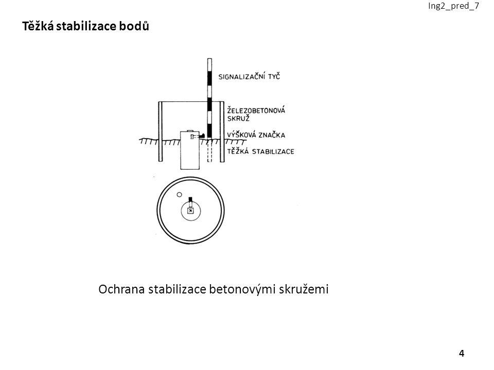 Těžká stabilizace bodů Ochrana stabilizace betonovými skružemi Ing2_pred_7 4