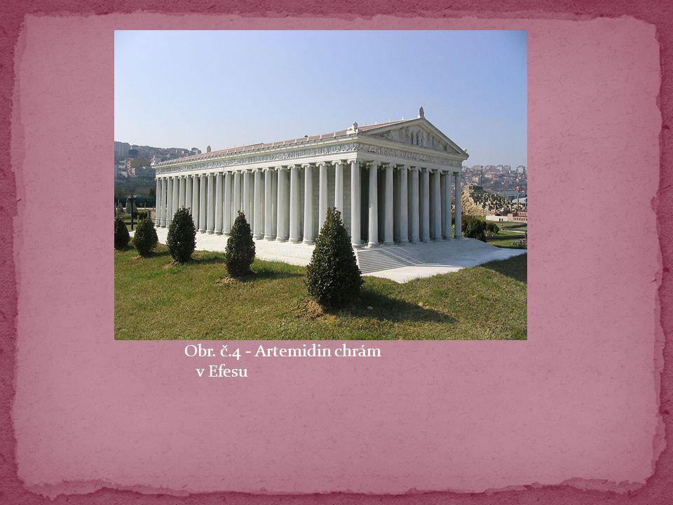 Obr. č.4 - Artemidin chrám v Efesu