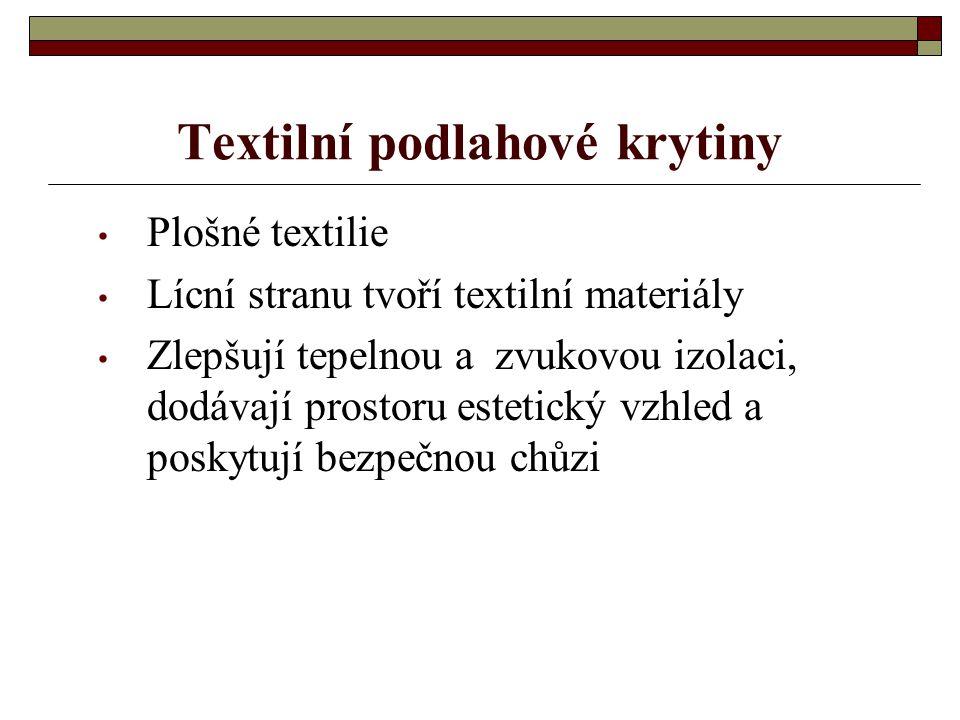 Další přednáška bude o dekoračních a potahových textiliích