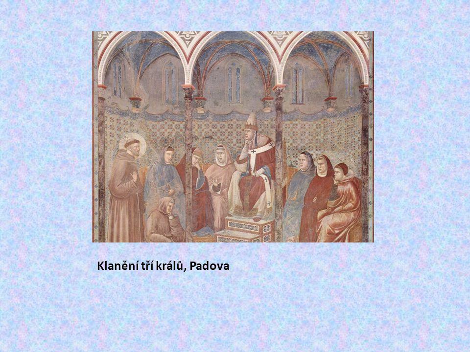 Klanění tří králů, Padova